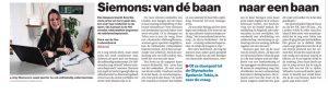 Publicatie in het Eindhovens Dagblad